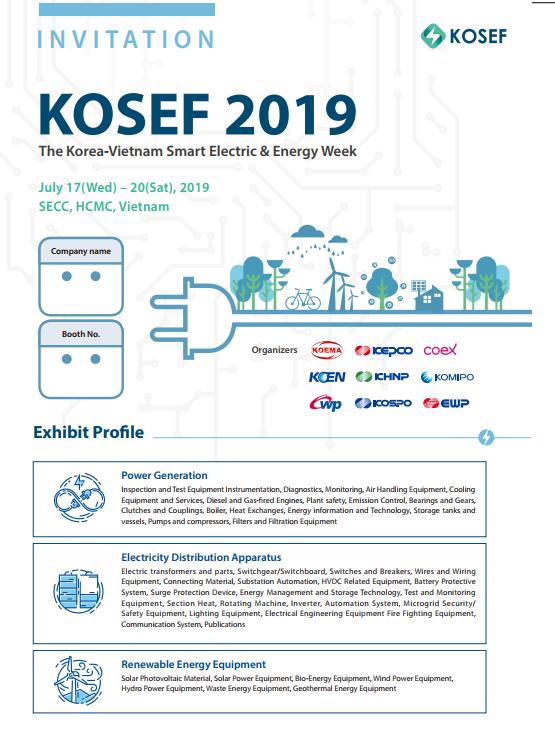 THE KOREA SMART ELECTRIC & ENERGY WEEK 2019 – KOSEF 2019 | ABAN